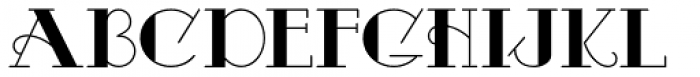 Odalisque NF Font UPPERCASE