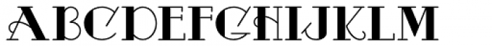 Odalisque NF Font LOWERCASE