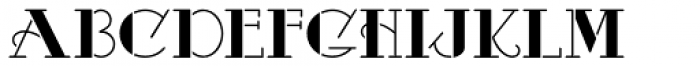 Odalisque Stencil NF Font LOWERCASE