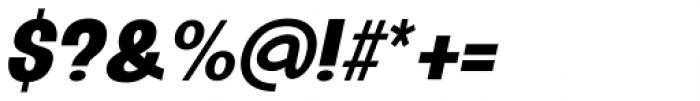 Oddlini Black Ut Condensed Ut Obli Font OTHER CHARS