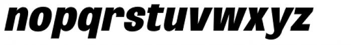Oddlini Black Ut Condensed Ut Obli Font LOWERCASE