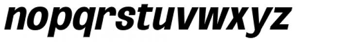 Oddlini Bold Ex Condensed Ut Obli Font LOWERCASE