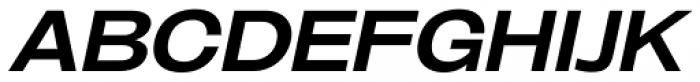 Oddlini Bold Ex Expd Ut Obli Font UPPERCASE