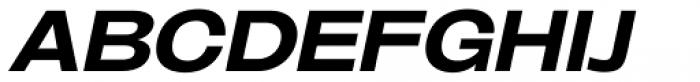 Oddlini Extra Bold Ex Expd Ut Obli Font UPPERCASE