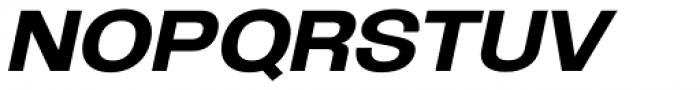 Oddlini Extra Bold Expd Ut Obli Font UPPERCASE