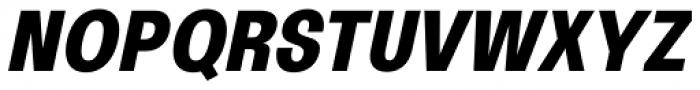 Oddlini Extra Bold Ut Condensed Ut Obli Font UPPERCASE