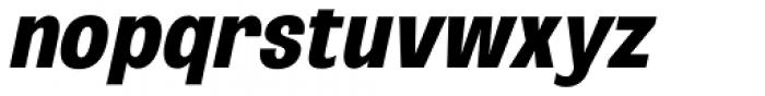 Oddlini Extra Bold Ut Condensed Ut Obli Font LOWERCASE