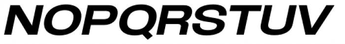 Oddlini Extra Bold Ut Expd Ut Obli Font UPPERCASE