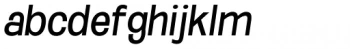 Oddlini Regular Condensed Obli Font LOWERCASE