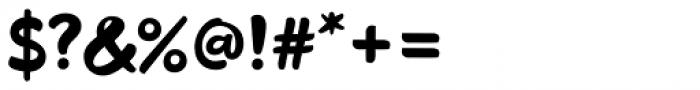 Odds Regular Font OTHER CHARS