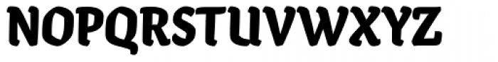 Ode Black Font UPPERCASE