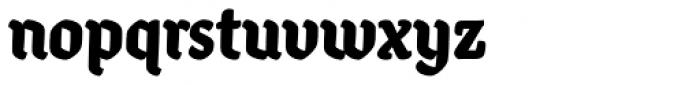 Ode Black Font LOWERCASE