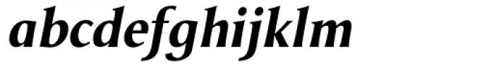 Odense Bold Italic Font LOWERCASE