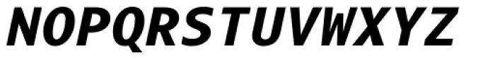 Odisseia Black Italic Font UPPERCASE