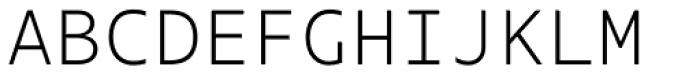 Odisseia Light Font UPPERCASE
