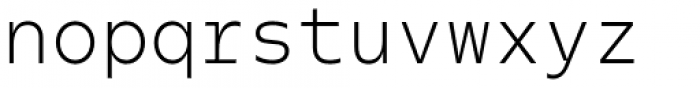 Odisseia Light Font LOWERCASE