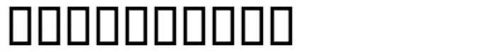Odyssey Ligatures Font OTHER CHARS