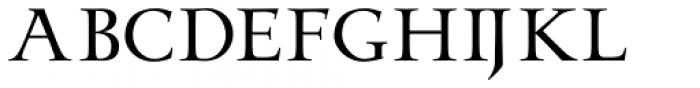 Odyssey Pro Font LOWERCASE