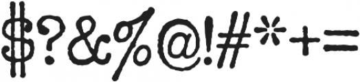 Office Memorandum Pro AOE Regular otf (400) Font OTHER CHARS