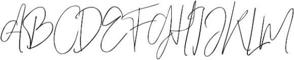 Officielle Regular otf (400) Font UPPERCASE