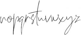 Officielle Regular otf (400) Font LOWERCASE