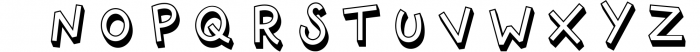 Offhand 4 Font LOWERCASE