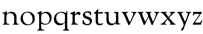 OFL Sorts Mill Goudy TT Font LOWERCASE