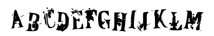 OfFiCeR DoWn Font UPPERCASE