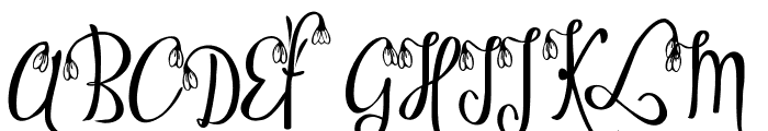 Ofaly Demo Font UPPERCASE