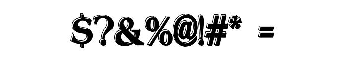 Offset Plain Font OTHER CHARS