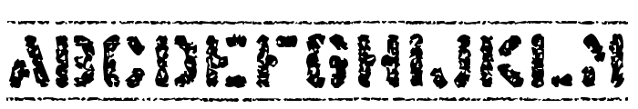 Offshore Banking Business Font LOWERCASE