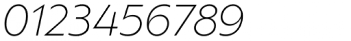 Ofelia Std Light Italic Font OTHER CHARS