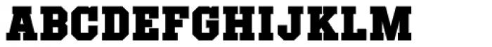 Offense Black Font UPPERCASE