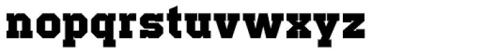 Offense Black Font LOWERCASE