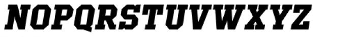 Offense Bold Italic Font UPPERCASE
