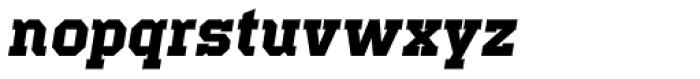 Offense Bold Italic Font LOWERCASE