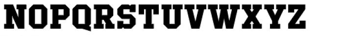 Offense Bold Font UPPERCASE