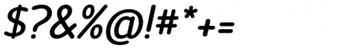 Official Bold Italic Font OTHER CHARS