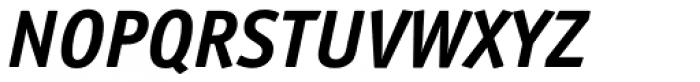 Officina Sans Pro Bold Italic Font UPPERCASE