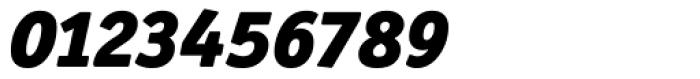 Officina Serif Black Italic Font OTHER CHARS