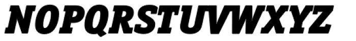 Officina Serif Black Italic Font UPPERCASE