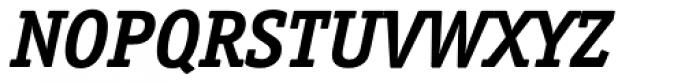 Officina Serif Bold Italic Font UPPERCASE