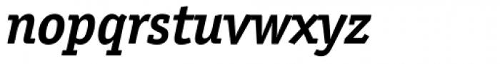 Officina Serif Bold Italic Font LOWERCASE