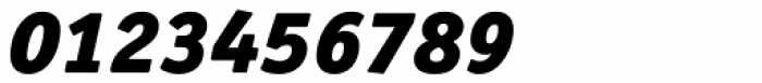 Officina Serif Pro Black Italic Font OTHER CHARS