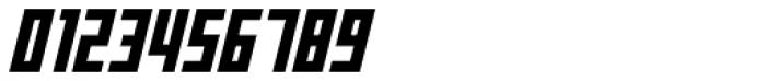 Offroad Black Oblique Font OTHER CHARS