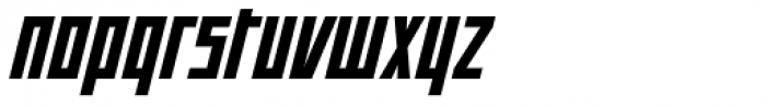 Offroad Black Oblique Font LOWERCASE