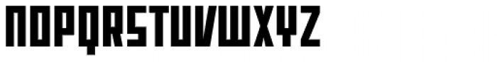 Offroad Black Font UPPERCASE