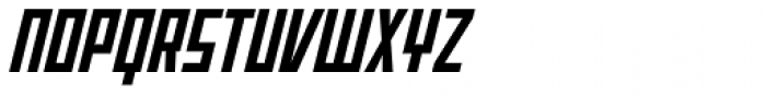 Offroad Bold Oblique Font UPPERCASE