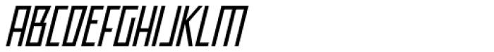 Offroad Book Oblique Font UPPERCASE