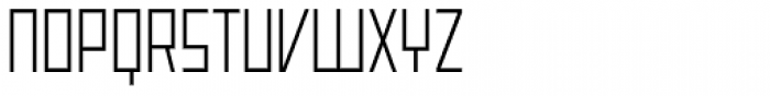 Offroad Expanded Light Font UPPERCASE
